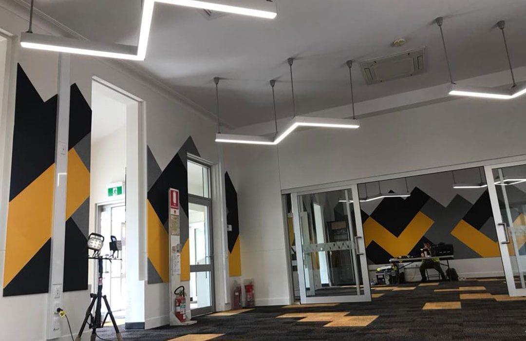 led lights installations